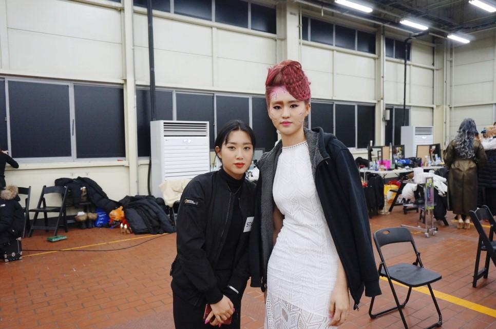 원주미용학원 2018 라빠 브랜뉴데이 현장실습-장♡빈