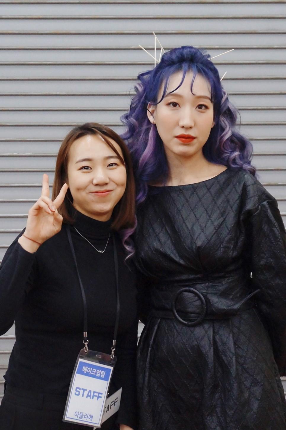 원주미용학원 2018 라빠 브랜뉴데이 현장실습-조희♡