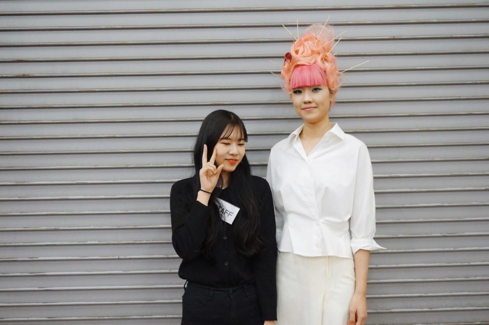 원주미용학원 2018 라빠 브랜뉴데이 현장실습-최효♡