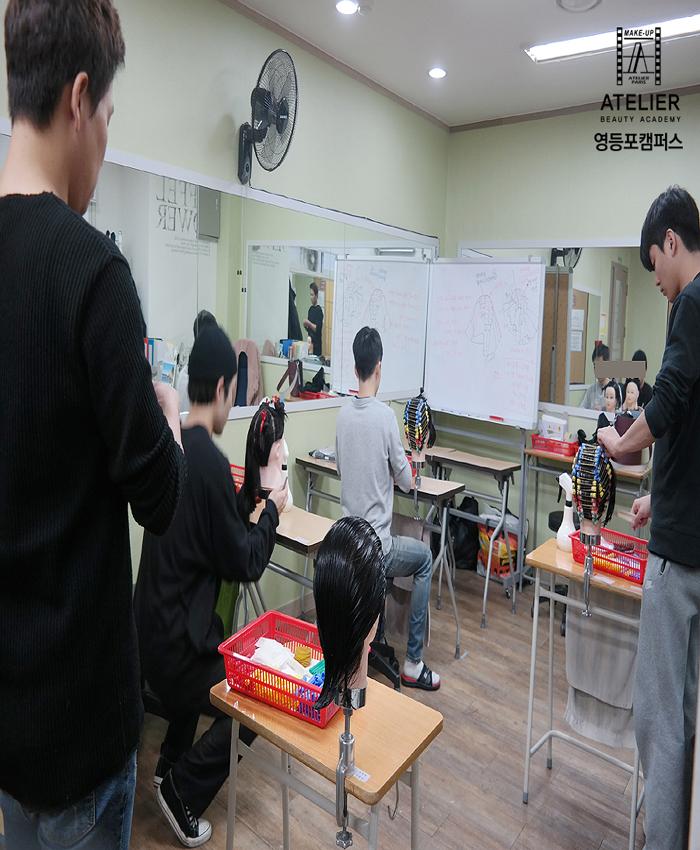 남자수강생들의 열정적인 모습!